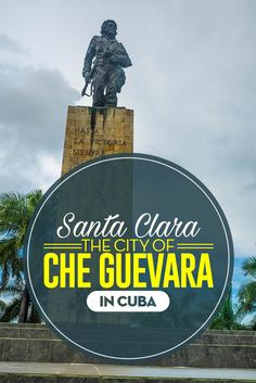 "It was in the city of Santa Clara, in Central Cuba. So it's easy to understand why El Che"" Guevara's mausoleum was built here. #cuba #carribean #history #love #adventure"