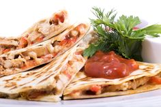 Quick Chicken Quesadilla #recipe for your lunch time #meal. #food