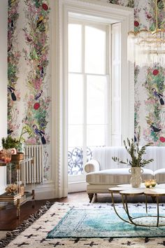 The idea of a Bohemian style is to come up with a living room that defines you as an individual and not just a streamline home.A Bohemian living room gives you the impression that you are in another world with… Continue Reading → Bohemian Living Rooms, My Living Room, Living Spaces, Home Interior Design, Interior And Exterior, Interior Office, Palette Deco, Deco Rose, Traditional Decor