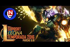 LEONA SUPPORT | duo proyecto | parche 6.16 | Ep. 30 - League of Legends en español