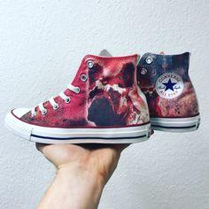 Die Converse Schuhe besten Custom DIY von 15 Bilder Chucks RAj45L