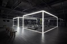 coordination asia installs 'the NIKE studio' within beijing art gallery