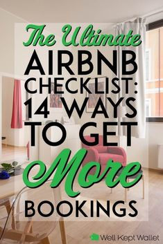 This handy Airbnb checklist will help you be the best host possible. You'll get higher ratings and earn more money! Home Buying Tips, Home Selling Tips, Airbnb House Rules, Air Bnb Tips, Airbnb Rentals, Vacation Rentals, Airbnb Host, Villa, Air B And B
