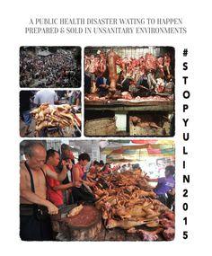 .@Whitehouse YuLin Dog Meat Festival: not a reason to celebrate #StopYuLinFest