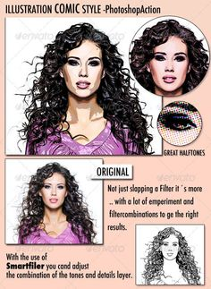 Photo to Illustration - Photoshop action