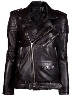 All - Blk Dnm Masculine Motorcycle Jacket - American Rag Online Store