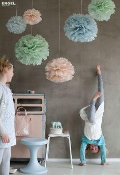 Pom Poms Pastel Small | Klevering