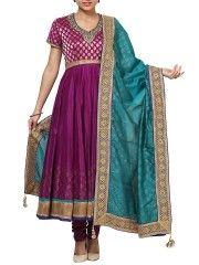 Short Sleeve Kalidar Salwar Set