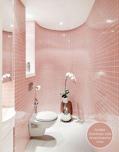 ahhhh!! pink tiles <3