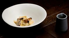 Tortellini filled with Jerusalem Artichoke, Mussels and Chilli