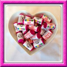 Wedding Favours - mini Love Hearts Sweets