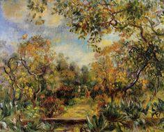 Pierre-Auguste Renoir (1841-1919) - Beaulieu Landscape, 1893