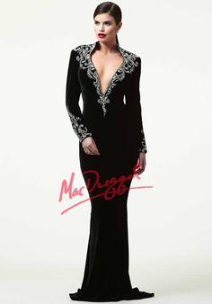 Mac Duggal Velvet Dresses