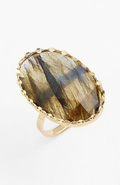 Lana Jewelry 'Ultra' Small Labradorite Ring available at #Nordstrom