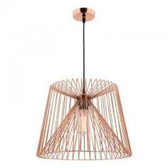 Zurich Copper Wire Frame Pendant