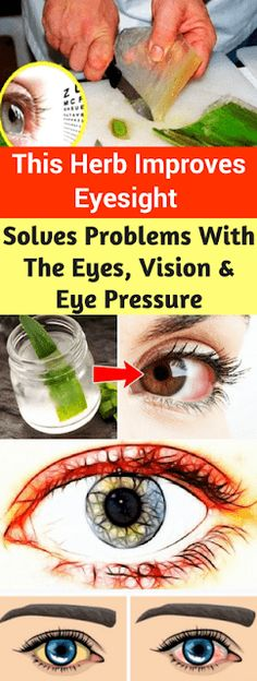 All Healthy Living Blog: This Herb Improves Eyesight Even In People Older Than 70 Years. Solves Problems & The Eyes, Vision & Eye Pressure