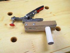 Versatile Bench Dog / Butée d'établi polyvalente | Atelier du Bricoleur (menuiserie)…..…… Woodworking Hobbyist's Workshop #woodworkingbench