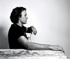 """#HeathLedger I want to get a tattoo that says """"HEATH LEDGER"""" really small. Any ideas where I should get it?"""