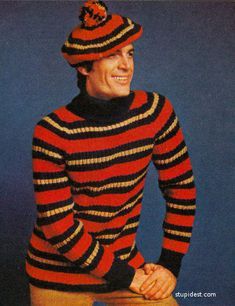 The Most Unfortunate Knitted And Crocheted Clothing From The '70s