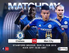 Yokohama Chelsea FC partnership. IT'S MATCHDAY! Chelsea vs Man City