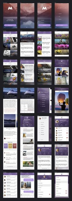 Megap - iOS 9 App Template by MK Templates on @creativemarket