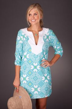Comfy and bright summer dress.