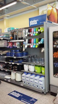 K-Supermarket! Made in Finland Finland, Shelf, How To Make, Furniture, Home Decor, Shelving, Decoration Home, Room Decor, Shelving Units