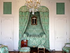 Madame de Pompadour's bedchamber