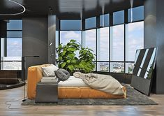 Dramatic interior of a charismatic bachelor on Behance Rich Lifestyle, Cozy House, Behance, Nursery, Architecture, Design, Home Decor, Bedrooms, Interiors