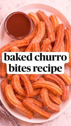 Easy baked churro bits recipe