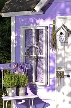 All Things Purple - Cottage