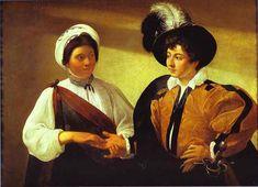 "Caravaggio (Michelangelo Merisi) (1571–1610) ""The Fortune Teller"", 1575 (second version)"