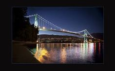 Lion's Gate Bridge, Vancouver, Canada