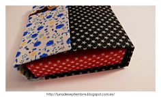 Textil; album; scrapbook; Tag