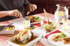 Crispy lemon chicken  Delicious chicken roast - recipe can be found at: http://mangofique.com/2015/03/lemon-chicken/  #yum #chicken #glutenfree #roast