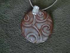 How do you do that? Handmade pendant.