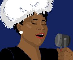 Ella Fitzgerald - Level 1 |Ella Fitzgerald was an African-American jazz singer, sometimes referred to as the First Lady of Song, Queen of Jazz, and Lady Ella. Her music is synonymous with the tones and music of Harlem. Fitzgerald got her start towards fame when she debuts at age 17 on November 21, 1934, in one of the earliest Amateur Nights at the Apollo Theater. Apollo Theater, Lifetime Achievement Award, Ella Fitzgerald, Him Band, Level 3, Music Lessons, Her Music, Jazz, November