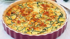 Herbed Zucchini Pie - try this lower-ingredient version of a member-favorite egg bake