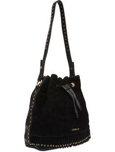 Página de detalhes do produto Bucket Bag Camurça Franjas