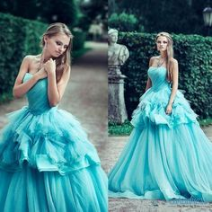 Find More Quinceanera Dresses Information about 2017 Elegant Ball Gown Quinceanera Dresses Strapless Tired Puffy  Ruffle Skirt Tulle Sweep Train Formal Prom Dresses for Girl,High Quality dress alternative,China dresses less than 100 Suppliers, Cheap dress barn plus size dresses from only true love topseller Store on Aliexpress.com