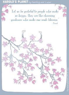 Make the soul blossom
