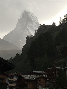 Matterhorn vanuit Zermatt.