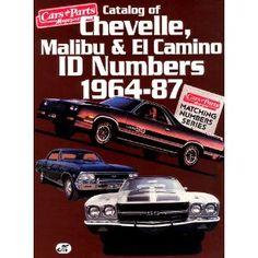 chevy chevelle malibu el camino repair manual 1969 1987 downtown rh pinterest com 1986 chevy el camino service manual 1986 chevy el camino owners manual