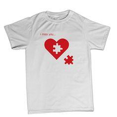 T-shirt I Miss You - BTU0012 **beezarre**