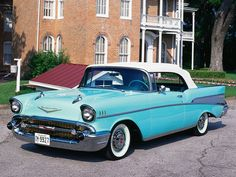 57' Chevy Bel Air Convertible soooooo Cool