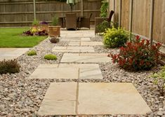 Mint Fossil Indian Sandstone Paving Slabs Patio and Home Garden Paving, Garden Steps, Garden Paths, Garden Pond, Shade Garden, Stepping Stone Paths, Paving Stones, Landscape Stepping Stones, Sandstone Paving Slabs