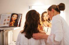 Visagistenschule Sabine Overbeck, Visagistik Ausbildung, Become a Make up Artist, Schminken lernen