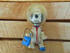 Vintage Peanuts Snoopy Astronaut Doll  Mid by KirasCuriosities