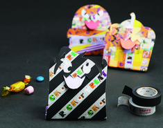 ハロウィンmtの魔法で大切なひとを笑顔に。 使用mt : trick or treat 、マットブラック Trick, Washi Tape, Halloween, Happy, Ideas, Ser Feliz, Halloween Labels, Happiness, Thoughts