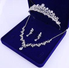 Rhinestone Wedding, Crystal Wedding, Gold Wedding, Bridal Jewelry Sets, Wedding Jewelry, Bridal Jewellery, Bride Tiara, African Beads, Tiaras And Crowns